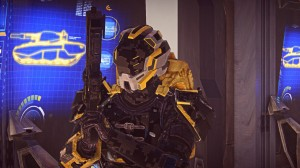 The helmet seen in this shot was created by Arctorn, a player.